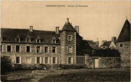 CPA AK Pommerit-Jaudy - Chateau De Kermezen (630421) - Other Municipalities