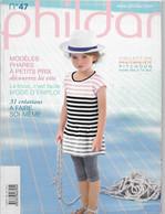 Livre ,Phildar     No 47  Enfant 31 Créations - Lana