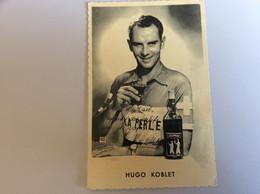 Cyclisme.autographe Dédicace .hugo Koblet - Ciclismo
