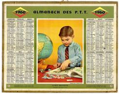 CALENDRIER GF 1960 - Le Petit Philatéliste - Imprimerie Oberthur - Big : 1941-60
