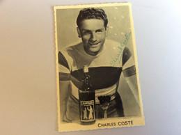 Cyclisme.autographe Dédicace .charles Coste - Ciclismo
