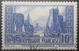 BAM65 - 1929/1931 - PORT DE LA ROCHELLE - N°261 (III) ☉ - Usados