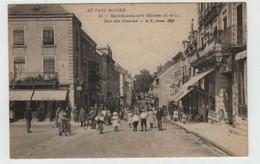 71  MONTCEAU Les MINES    Rue Des Oiseaux - Montceau Les Mines