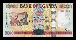 Uganda 10000 Shillings 2009 Pick 45c SC UNC - Uganda