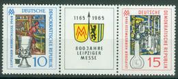 DDR 1052/53 Dreierstreifen ** - Nuevos