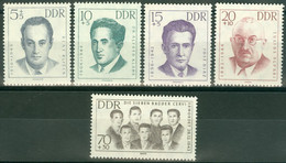 DDR 918/22 ** Postfrisch - Nuevos