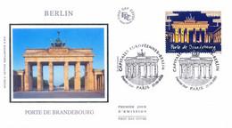 Enveloppe 1er Jour Capitales Européennes, Berlin, Porte De Brandebourg, 2005 (YT 3810) - 2000-2009