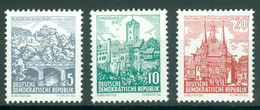 DDR 835/37 ** Postfrisch - Nuevos