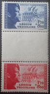 BAM82 - 1942 - LEGION TRICOLORE - N°566a NEUFS** - Nuovi