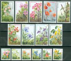 Kenia 240/54 ** Blumen - Otros