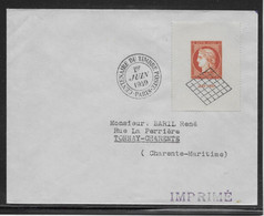 France N°841 Sur Enveloppe 1er Jour  - TB - Storia Postale