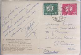 Suisse - Genève - Palais Des Nations - Cachet Nations Unis - Sin Clasificación