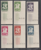 CAMBODGE IMPERF. + COIN DATE  1956  COURONNEMENT **MNH  VF  Réf 56 - Cambodge