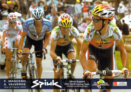 CYCLISME: CYCLISTE : MANCEBO - VALVERDE - Ciclismo