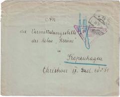 Autriche - Wien (Vienne) - Lettre Pour Copenhague - Censure - 1917 - Sin Clasificación