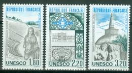 Frankreich UNESCO 34/36 ** - Mint/Hinged