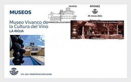 Spanje / Spain - Postfris / MNH - FDC Museum Voor Rioja Wijncultuur 2021 - 2011-... Unused Stamps