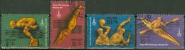 Sowjetunion 4707/10 O Olympia Moskau 1980 - Used Stamps