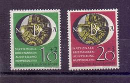 Bund Briefmarkenausstellung 1951 MiNr 141/142 Ungebraucht - Michel 35,00 € (075) - Unused Stamps