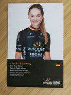 Cyclisme - Carte Publicitaire  WIGGLE HIGHS 2017 : LICHTENBERG - Cycling