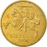 Monnaie, Lithuania, 10 Centu, 2008, TB+, Nickel-brass, KM:106 - Lithuania