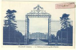 Tilloloy : Le Château Pris De La Grille D'entrée - Andere Gemeenten