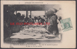 Gambia - BATHURST, Shop On The Fish Market, 1911 - Gambia
