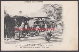 Gambia - MAC-CARTHTY Town, The Open Market - Gambia