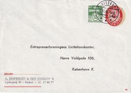 DANEMARK  1986    ENTIER POSTAL/GANZSACHE/POSTAL STATIONARY  LETTRE RISSKOV - Postal Stationery