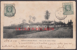 Gambia - BATHURST, Part Of The Native Village, 1905 - Gambia