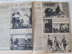 1949 TRAVERSEE De La Manche   DU CHANNEL  La Manche à La Nage NATATION - Zonder Classificatie