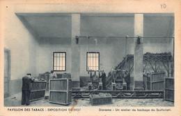 "11493""PAVILLON DES TABACS-EXPOSITION DE 1937-DIORAMA:UN ATELIER DE HACHAGE DU SCAFERLATI""-VERA FOTO-CART NON SPED. - Fiere"