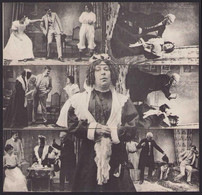 Puzzle-AK Theaterstück Tante Van Charley, Puzzle Aus Sechs Teilen - Teatro