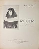 Spartiti - Melodia - Maria Floritta Dei Conti Di Randazzo - Bazzi 1937 - Non Classificati