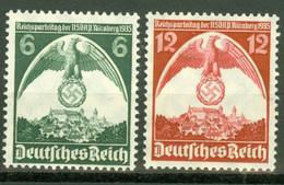 Deutsches Reich 586/87 ** Postfrisch - Unused Stamps