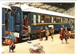 CPM 68 (Haut-Rhin) Mulhouse, Musée Du Chemin De Fer - Voiture-lits De Grand Luxe CIWL. Train Bleu Des Années 30 Au Dépa - Trains