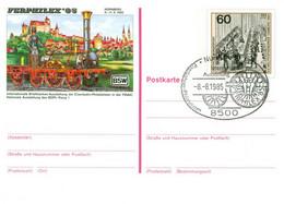 BRD Ganzsache PSo10 Sonderstempel Nürnberg - Privatpostkarten - Gebraucht