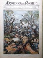 La Domenica Del Corriere 5 Settembre 1915 WW1 Guerra Sulle Alpi Livinallongo Re - War 1914-18