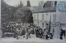 41 //  Montrichard (Loir Et Cher) La Place Du Marché - Montrichard