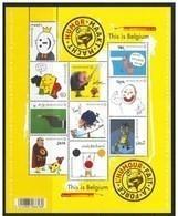 Blok 189** België 2011 - Humor Maakt Macht 4135/44** L'Humour Fait Le Force - Bloc XX MNH - Bloques 1962-....