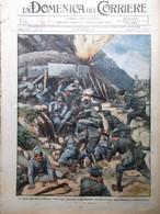 La Domenica Del Corriere 19 Settembre 1915 WW1 Joffre Calandra Trentino Redento - War 1914-18