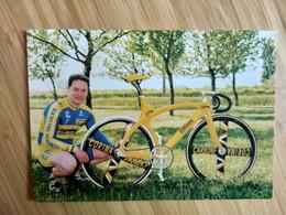 Cyclisme - Carte Publicitaire CORIMA 1999 : Frédéric MAGNE - Radsport