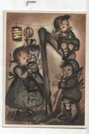 Chorale D'enfants, Harpe. Coloprint BUKA 8343 - Altre Illustrazioni
