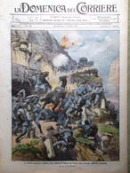 La Domenica Del Corriere 26 Settembre 1915 WW1 Laura Minghetti Guerra Dolomiti - War 1914-18