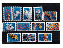 2019 SERIE MONDE FANTASTIQUE OBLITEREE COMPLETE - Adhesive Stamps