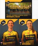 Cyclisme, Serie Jumbo Visma Women's 2021, Sous Blister - Cycling