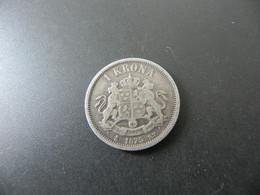 Sweden 1 Krona 1875 Silver - Sweden