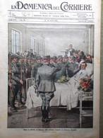 La Domenica Del Corriere 24 Ottobre 1915 WW1 Fabre Rovine Ypres Venezia Coston - War 1914-18