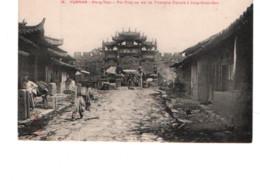 28106 CHINE CHINA : YUNNAN, Mong-Tzeu, Pai Fang Ou Arc De Triomphe Chinois à Sin-Gnan-Soo -18 Dieulefils - Cina
