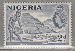 NIGERIA 1953 Mi 75 SG 72c MNH (**) #22481 - Nigeria (...-1960)